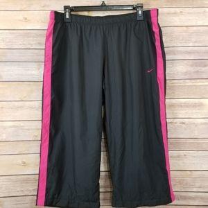 Nike Womens Sweatpant Cropped Capri Size XL